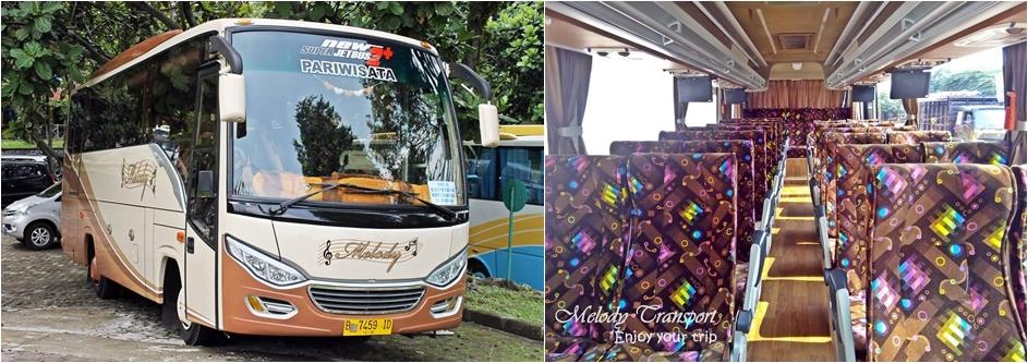 sewa bus pariwisata murah melody transport-horz
