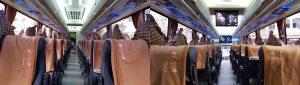 sewa bus pariwisata jakarta bekasi depok tangerang ter baru jetbus 3+