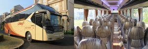 bus pariwisata melody transport