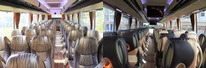 interior bus pariwisata melody transport 59seat